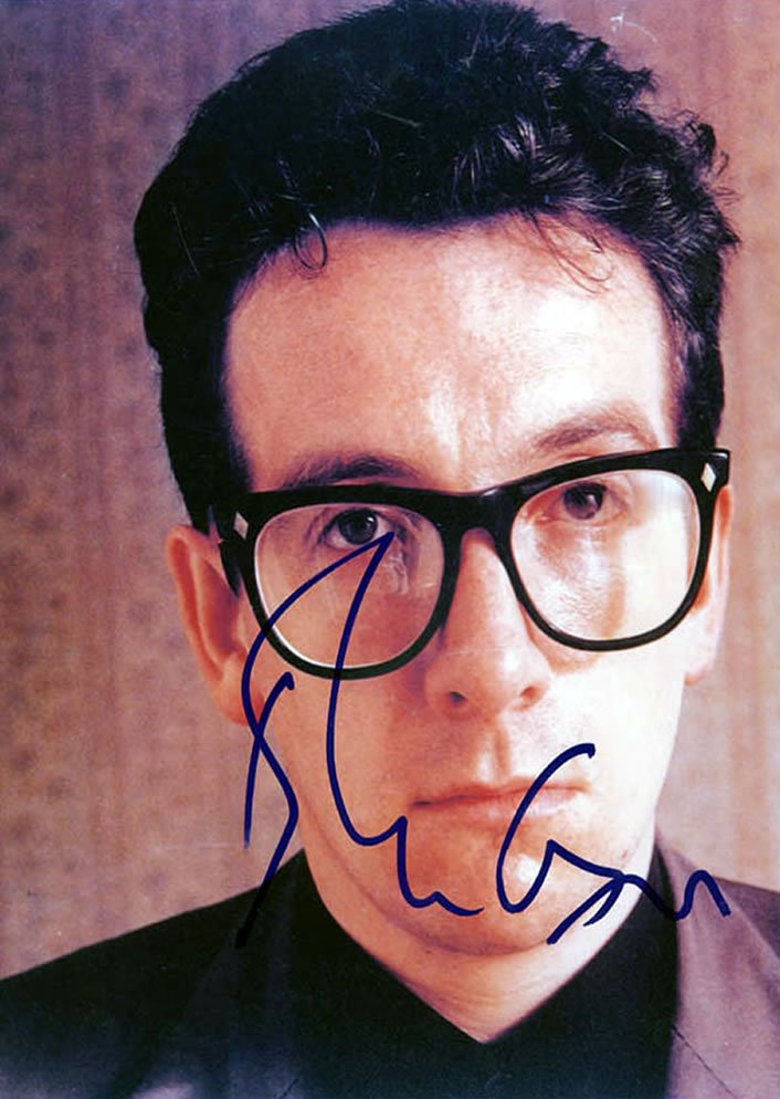 Elvis Costello Autograph