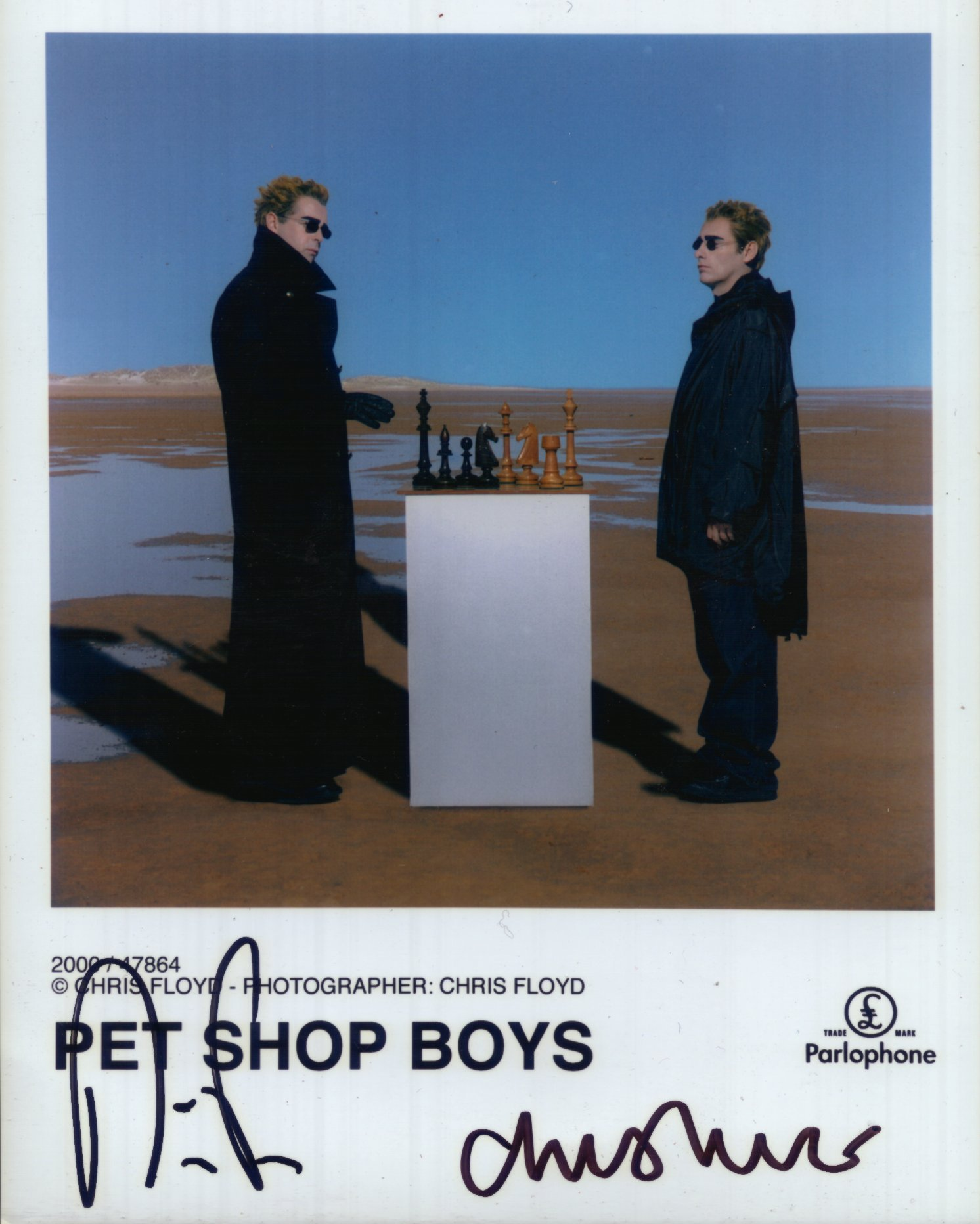 Pet Shop Boys Autograph