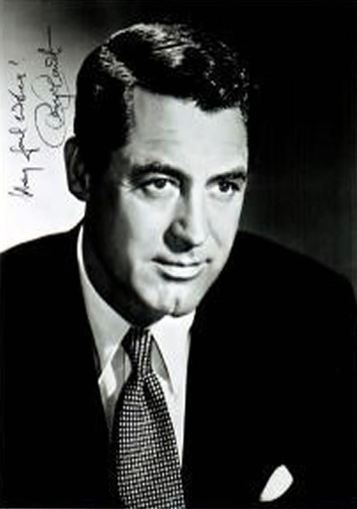 Cary Grant Autograph