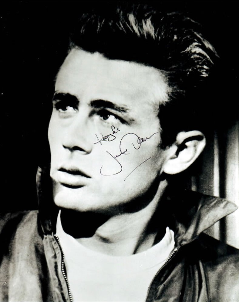 James Byron Dean, born February 8th, 1931 was a twice Oscar nominated American film actor who actually only made seven films (of which four were uncredited ... - james_dean