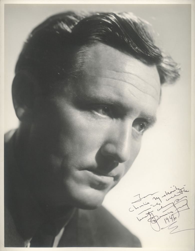 Spencer Tracy Autograph