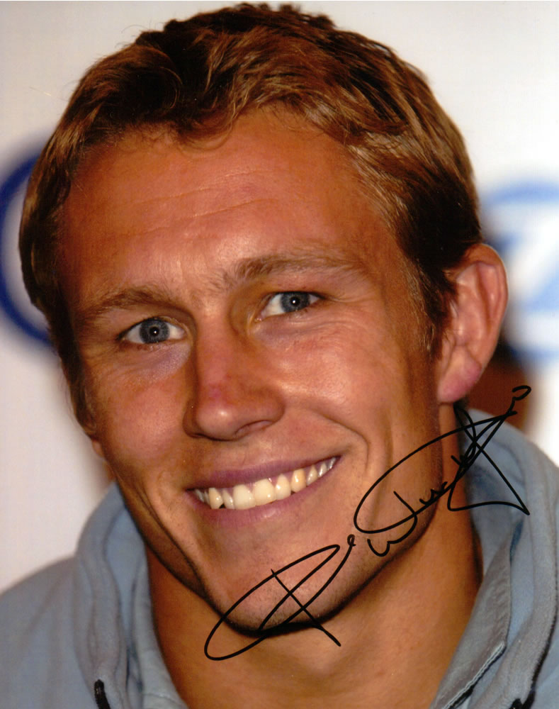 Johnny Wilkinson Autograph